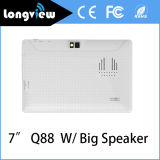 7 Inch Q88 Android Quad Core Tablet PC with Big Speaker