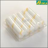 "Blister Packing 10PCS 4"" Yellow Strips Acrylic Mini Paint Roller Set"