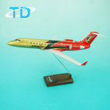 Zommair Crj-200 1/100 27cm Resin Model Business Airplane