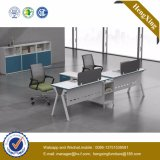 White Color Office Furniture 1.2m Computer Staff Table (UL-NM037)