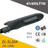 30W Outdoor Lighting IP65 Solar LED Street Light Housing with Pole