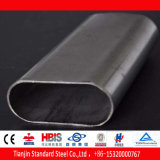 Flat Oval Stainless Steel Pipe (430 316Ti 310S 904L 321)