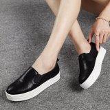 Hot Sale Women Leather Shoes Platform Shoes (FTS1019-26)