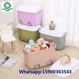 Children′s Cartoon Plastic Toy Storage Box for Baby Clothes