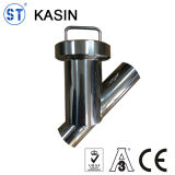 DIN/SMS/3A Sanitary Stainless Steel 304/316L Y Type Welded/Clamped/Threaded Strainer