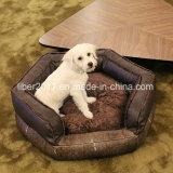 Pet Supply Pentagon Luxury Dog Sofa Bed Fashion Design Pet Sofa Cushion Dog Bedding