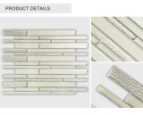 Cheap Factory Direct Indoor Decorative Strip Beige Glass Tile