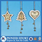 Wooden Exquisite Design with Star Mini-Tree and Heart for Christmas Tree