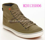 High Suede Leather Sneaker Shoes (M2013SH02 & M2013SH06)
