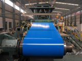 Prepainted Steel Coil (PPGI, sea blue)