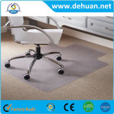 "Chair Mat for Carpet, 53"" X 45"" with Lip, Clear"