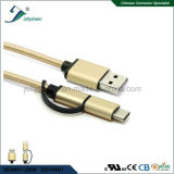Mirco USB and Type C to USB2.0 Cable for All Android Devices