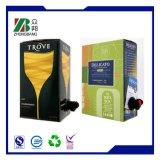 Liquid Packaging Bib Bag in Box for Wine/Water/Juice/Milk
