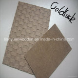 1220*2440mm Dark Brown Hardboard with Smooth Surface and Rough Back