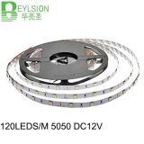 120LEDs/M LED Strip Light 5050 SMD DC12V IP655