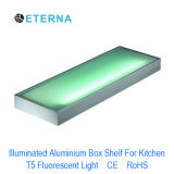 Kitchen Light Illuminated Aluminium Box Shelf Light Wall Mounted CE RoHS