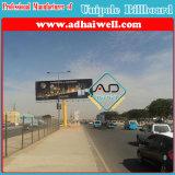 Double Side Outdoor Column Galvanized Steel Structure Advertising Display Billboard (W18 X H6)