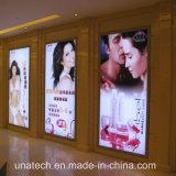 Supper Shopping Center Ads Media Backlit Film Banner Tension Advertising LED Back Light Box