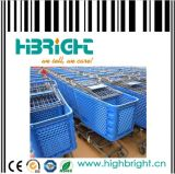 Supermarket Plastic Trolleys (HBE-P-4)