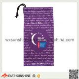 Microfiber Digital Printed Glasses Bag Case (DH-MC0449)