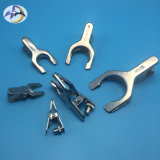 Spherical Joint Pinch Clamps for Laboratory Metal