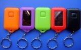 Cheap Event Premium Mini Solar Flashlight Key Chain