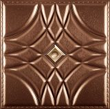 China Suoya 1075-16 3D Wall Paper Leather Carving Wall Panel Home Decoration