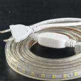 Eco-friendly Transparent PVC 8W/M High Volt SMD5050 LED Strip