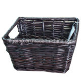 Rectangular Home Storage Willow Baskets Rattan Basket in Customized Size