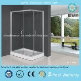 Clear Tempered Glass Aluminum Frame Shower Cubicle Shower Enclosure (BLS-9405)