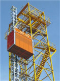 2014 CE, ISO Small Sc100 Sc200 Single Cage Construction Elevator, Double Cage Electric Construction Hoist for Sale