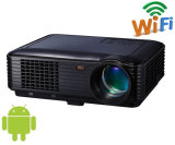 4.4android WiFi 3000lm HDMI, USB, TV Home Theater Projector