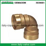 Hot Sell Bronze Equal Elbow/Red Brass Elbow (AV-QT-1031)