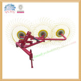 Agricultural Implement 3 Tines Hay Rake Machine Mounted Jm Tractor
