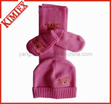 Wholesales Unisex Fashion Acrylic Warm Knitted Set