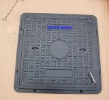 En124 Factory Cable FRP GRP Manhole Cover with Frame
