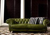 Living Room Leather Sofas 2013, Fashion Leather Sofa, Green Sofa (K1200)
