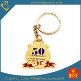 Custom Anniversary Golden Key Chain Promotion (KD-0128)