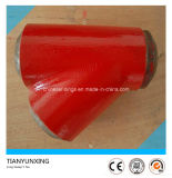 Long Sweep Alloy Steel Lateral Tee with Painting