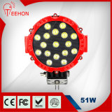 4X4 Accessories off Road LED Driving Lights, 51W LED Work Light