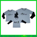 Custom Cotton Family T Shirt with Logos on Chest