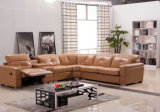 High Quality Leather Recliner Sofa with Corner (975)