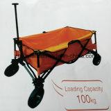 Cloth Tray Four Wheels Foldable Garden Cart
