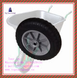 400-8 High Quality and Long Life Solid Rubber Wheel