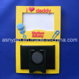 I Love Mum Rubber Photo Frame Picture Frames