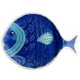 11.5inch Melamine Fish Plate (PT202)