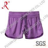 Purple Fabric New Women′s Sport Pants (QFS-4093)