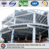 Prefabricated Steel Structure 4s Exhibition Hall