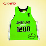 Fashion Customized Sleeveless Jersey Running Sports Vest Ladies Gym Singlets