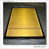 Black Aluminum Snap Frame Slim Light Box (CB013)